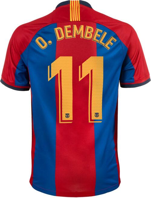 Nike Ousmane Dembele 98/99 Barcelona Home Jersey