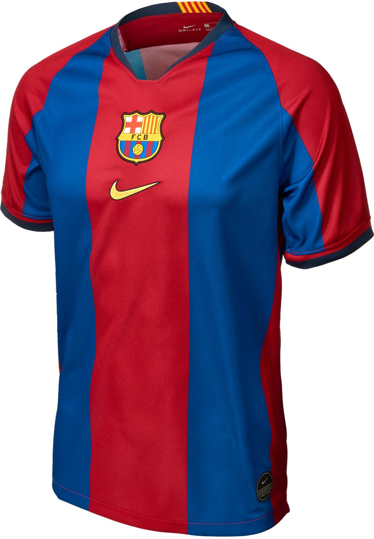 new concept 3dda3 87faa 1998/1999 Nike Giovanni Barcelona Retro Home Jersey - SoccerPro