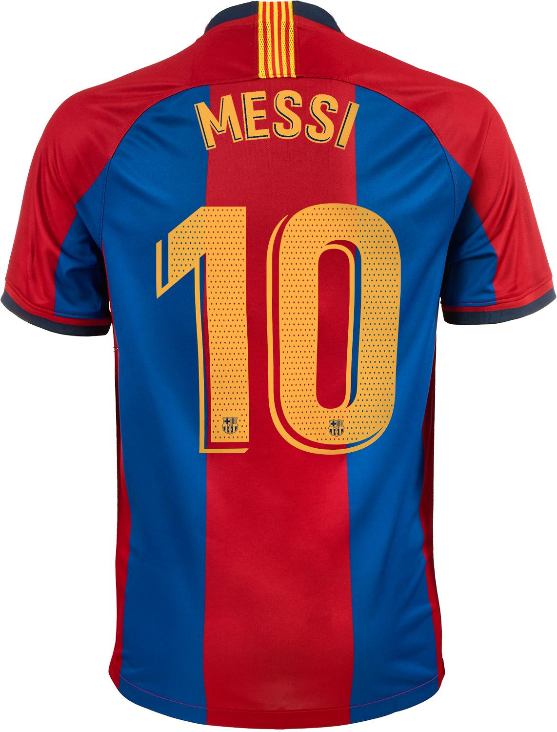 wholesale dealer 23437 b2905 Nike Lionel Messi 98/99 Barcelona Home Jersey - SoccerPro
