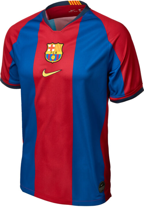 Nike Lionel Messi 98/99 Barcelona Home Jersey