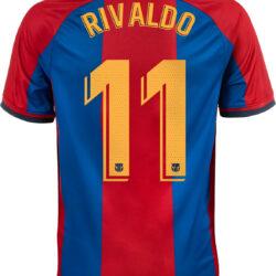 info for 51ff5 26e6b 1998/1999 Nike Rivaldo Barcelona Retro Home Jersey - SoccerPro