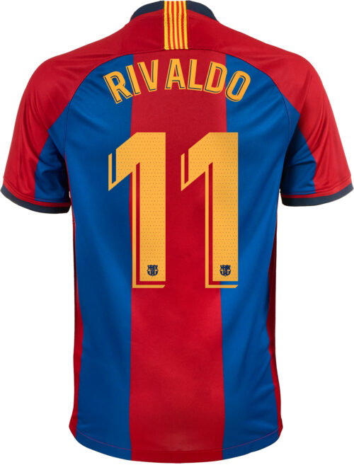 1998/1999 Nike Rivaldo Barcelona Retro Home Jersey