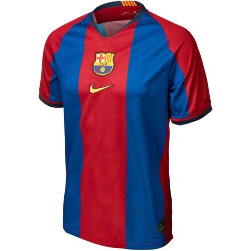 Kids Nike 98/99 Barcelona Home Jersey