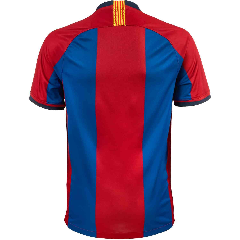 aa7f2f36a95 Kids Nike 98/99 Barcelona Home Jersey - SoccerPro