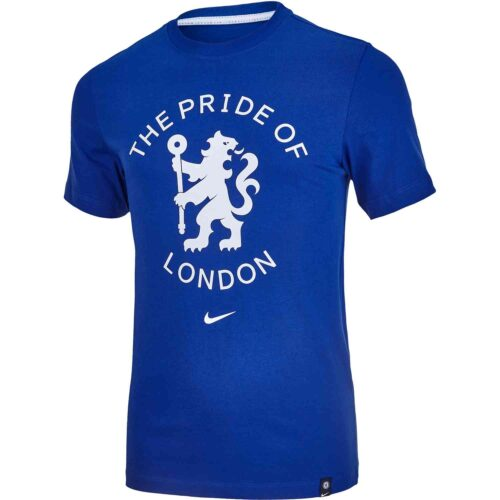 Nike Chelsea Story Tee – Rush Blue