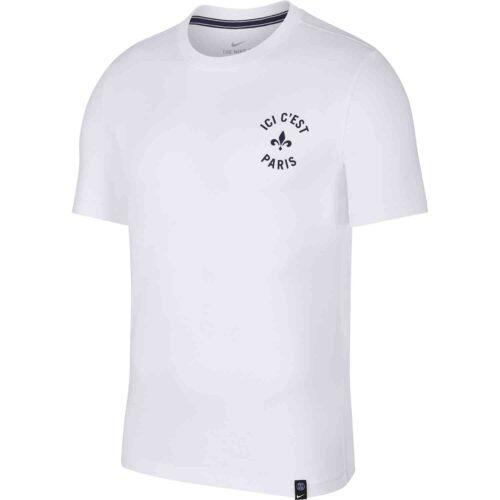 Nike PSG Story Tee – White