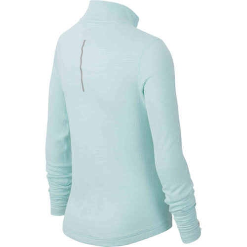 Girls Nike 1/2 zip Training Top – Teal Tint