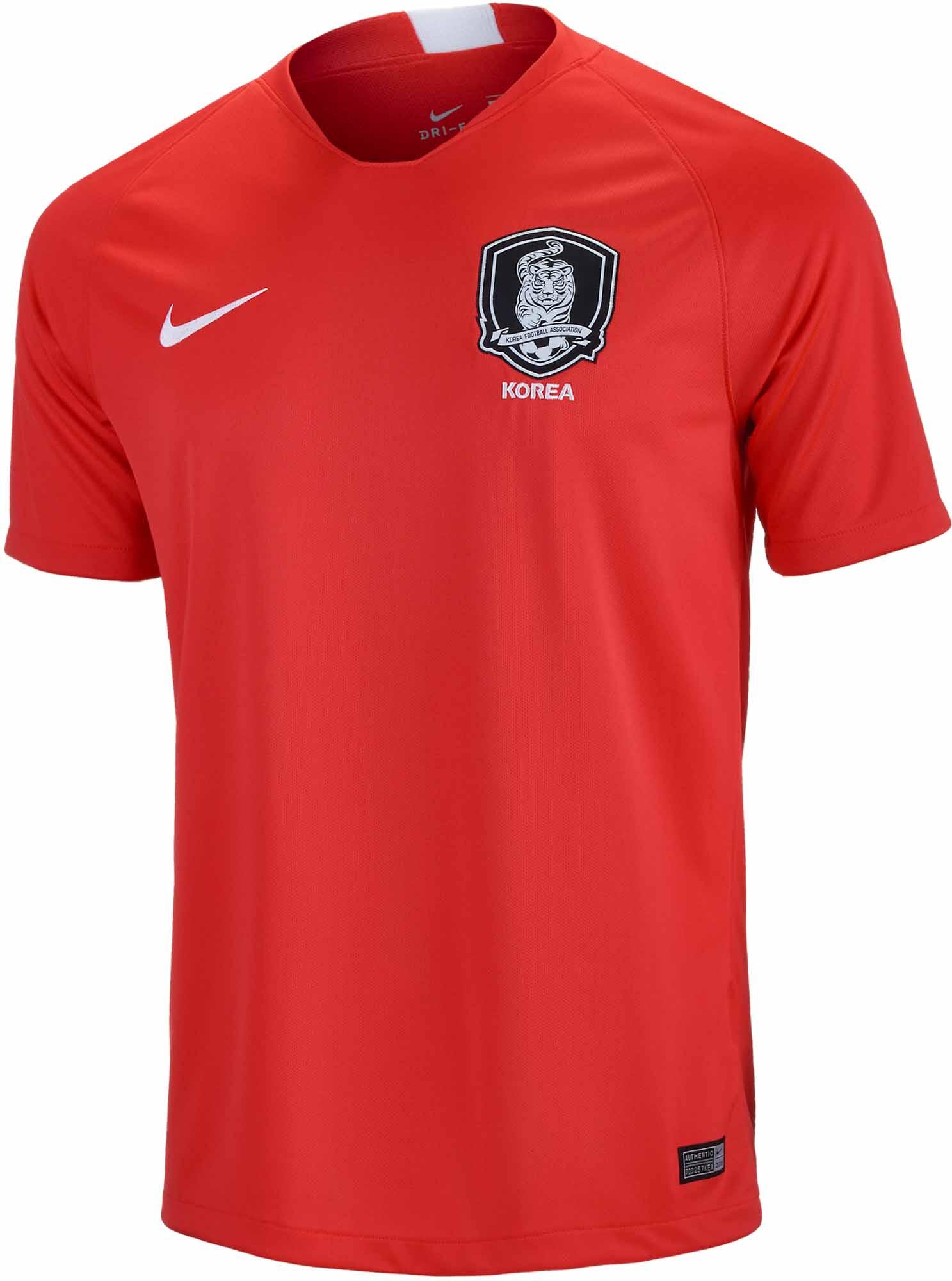 Nike South Korea Home Jersey 2018-19 - SoccerPro 40e54b84b