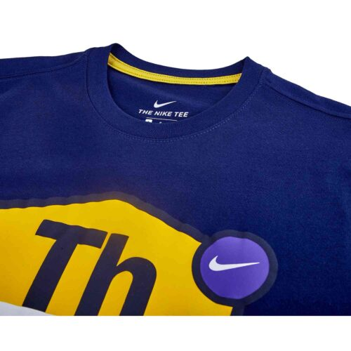 Nike Tottenham Tagline Tee – Binary Blue