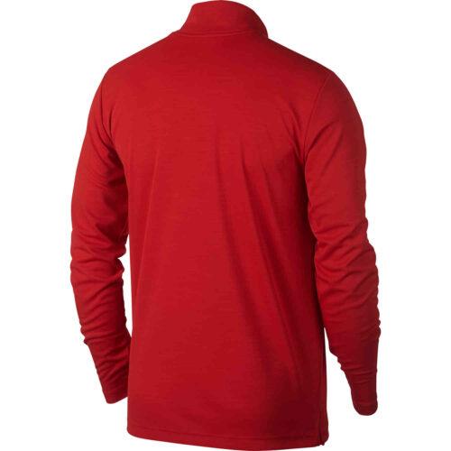 Nike Supersoft 1/4 zip Training Top – University Red/Black