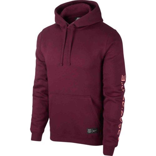 Nike Barcelona Hoodie – Deep Maroon