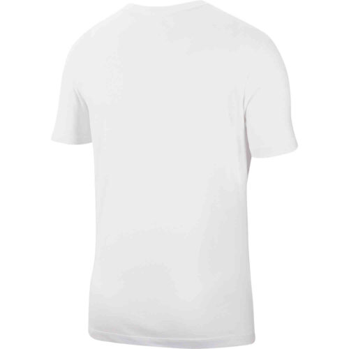 Nike Dri-Fit Cotton Swoosh Tee – White