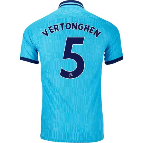2019/20 Nike Jan Vertonghen Tottenham 3rd Match Jersey