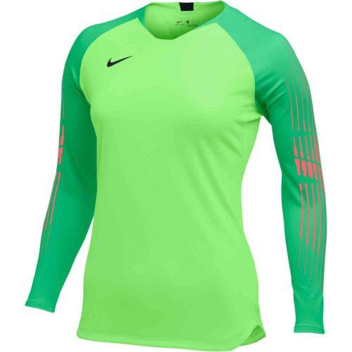 Nike Gardien II GK Jersey – Womens – Green Strike/Green Spark/Hot Punch/Black