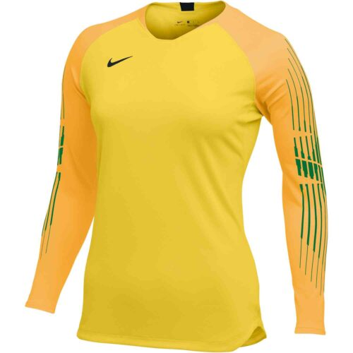 Nike Gardien II GK Jersey – Womens – Tour Yellow/University Gold/Black