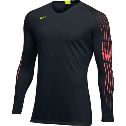 Nike Gardien II GK Jersey – Youth – Black/Hot Punch/Volt