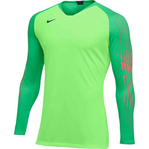 Nike Gardien II GK Jersey – Youth – Green Strike/Green Spark/Hot Punch/Black