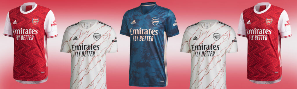 arsenal home away and third jersey category page
