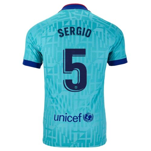 2019/20 Nike Sergio Busquets Barcelona 3rd Jersey