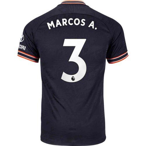 2019/20 Kids Nike Marcos Alonso Chelsea 3rd Jersey