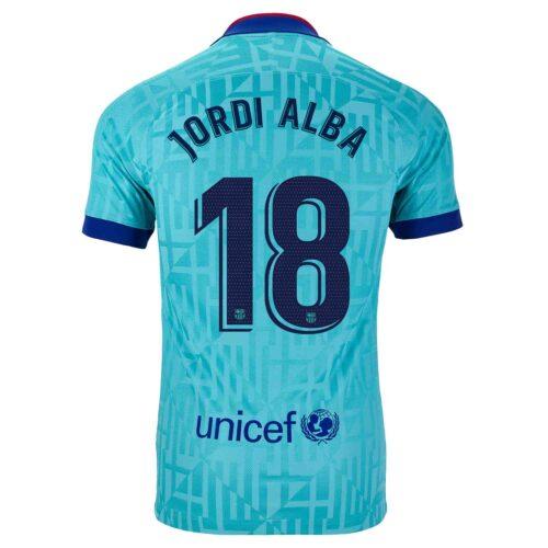 2019/20 Kids Nike Jordi Alba Barcelona 3rd Jersey