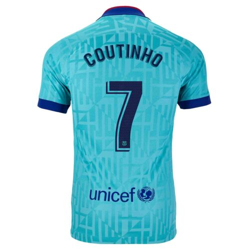 2019/20 Kids Nike Philippe Coutinho Barcelona 3rd Jersey