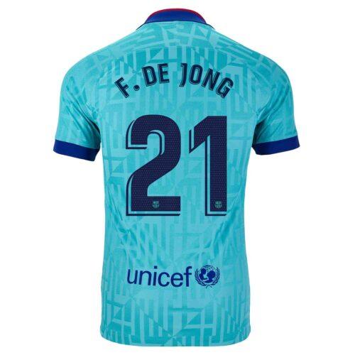 2019/20 Kids Nike Frenkie De Jong Barcelona 3rd Jersey