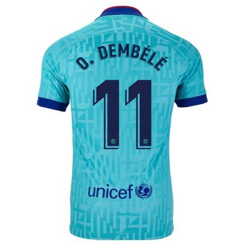 2019/20 Kids Nike Ousmane Dembele Barcelona 3rd Jersey