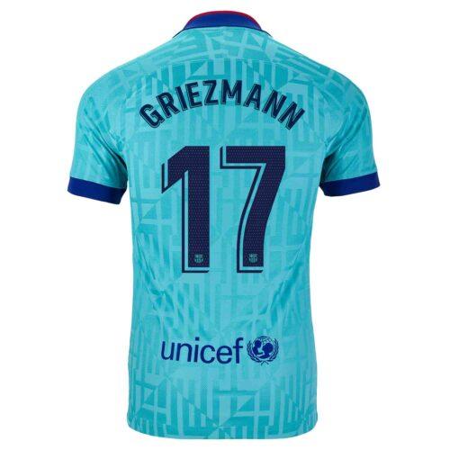 2019/20 Kids Nike Antoine Griezmann Barcelona 3rd Jersey