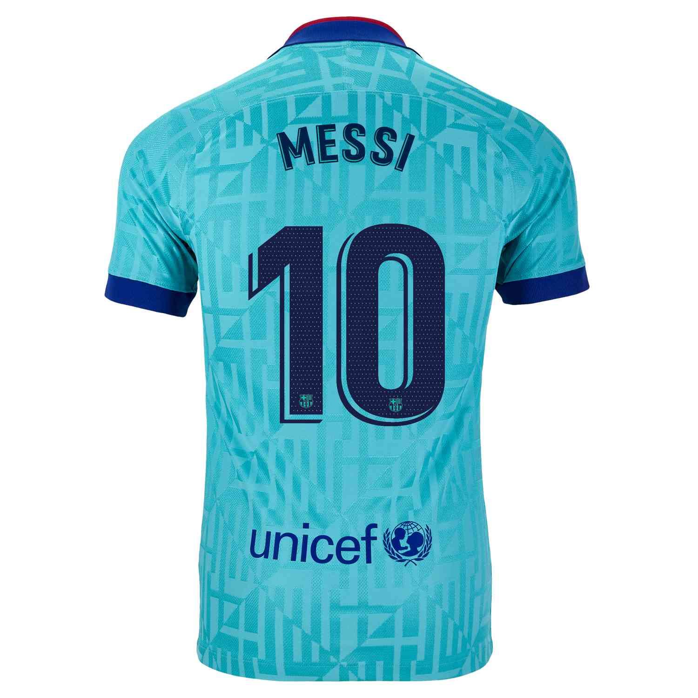 2019 20 Kids Nike Lionel Messi Barcelona 3rd Jersey Soccerpro