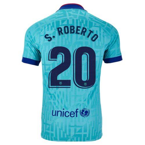 2019/20 Kids Nike Sergi Roberto Barcelona 3rd Jersey