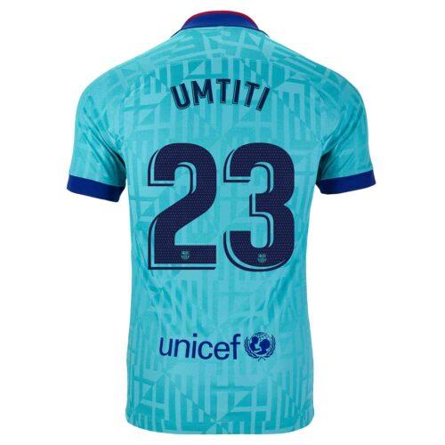 2019/20 Kids Nike Samuel Umtiti Barcelona 3rd Jersey