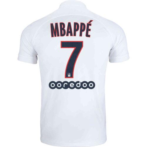 2019/20 Kids Nike Kylian Mbappe PSG 3rd Jersey