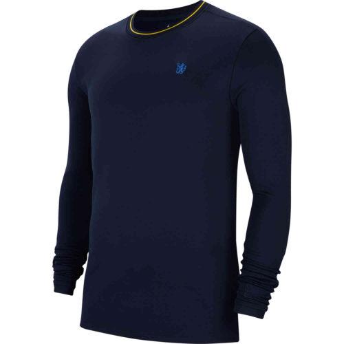 Nike Chelsea L/S Crew – Obsidian/Rush Blue