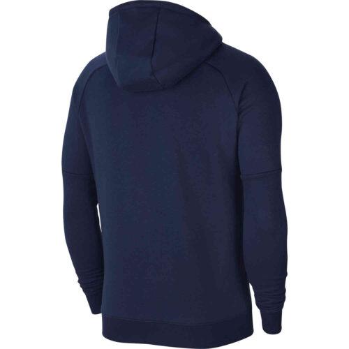 Nike Chelsea Fleece Hoodie – Obsidian/Rush Blue
