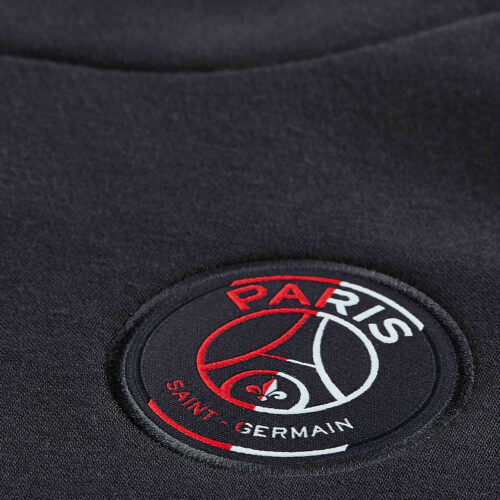 Nike PSG Fleece Hoodie – Oil Grey/Obsidian/Oil Grey