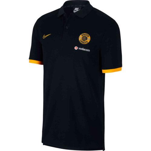 Nike Kaizer Chiefs Pique Polo – Black/Taxi/Taxi