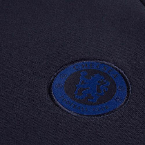 Kids Nike Chelsea Fleece Hoodie – Obsidian/Rush Blue