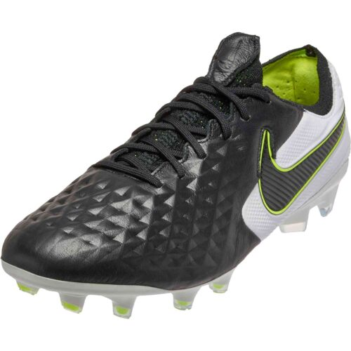 Nike Tiempo Legend 8 Elite FG – Black with White & Volt