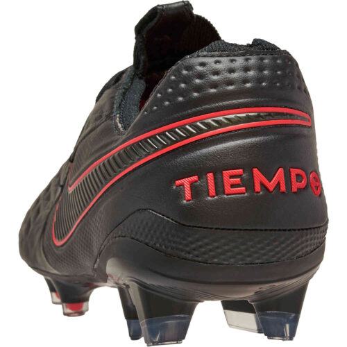 Nike Tiempo Legend 8 Elite FG – Black & Chile Red Pack