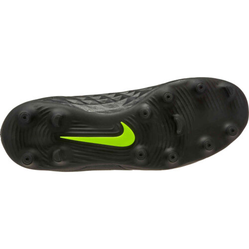 Kids Nike Tiempo Legend 8 Club FG – Black/Volt