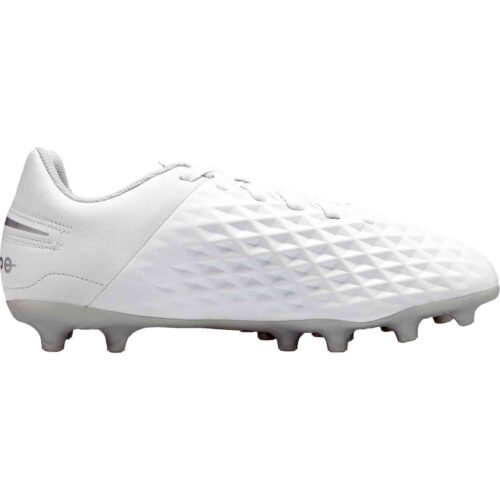 Kids Nike Tiempo Legend 8 Club FG – Nuovo White