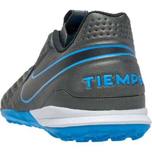 Nike Tiempo Legend 8 Academy TF – Black & Black with Blue Hero