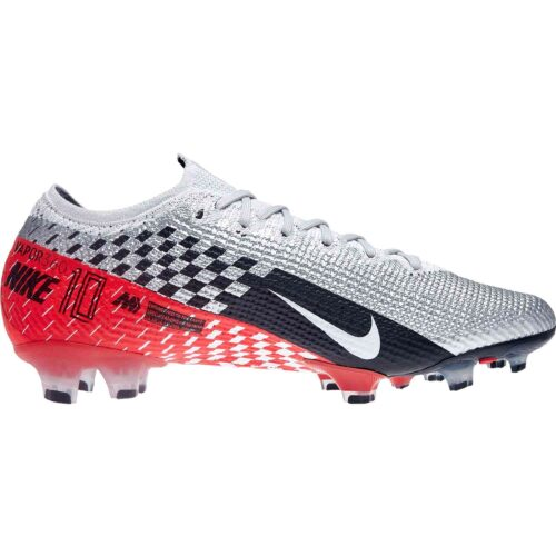 Nike Neymar Mercurial Vapor 13 Elite FG – Chrome/Black/Red Orbit