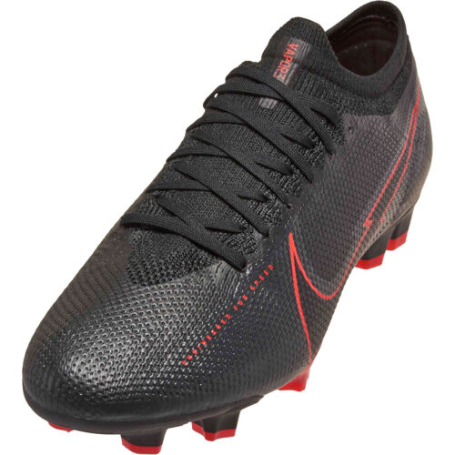 Nike Mercurial Vapor 13 Pro FG – Black & Dark Smoke Grey