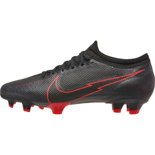 Nike Mercurial Vapor 13 Pro FG – Black & Dark Smoke Grey