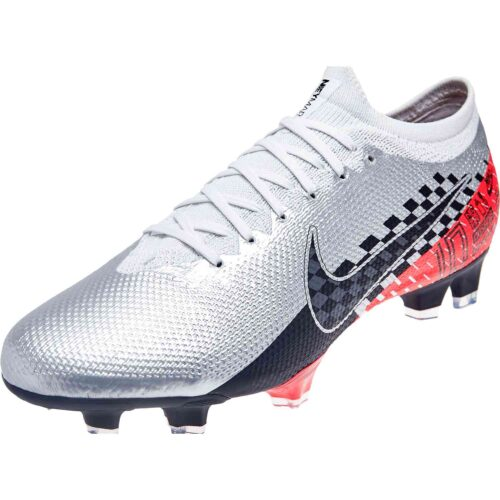 Nike Neymar Mercurial Vapor 13 Pro FG – Chrome/Black/Red Orbit