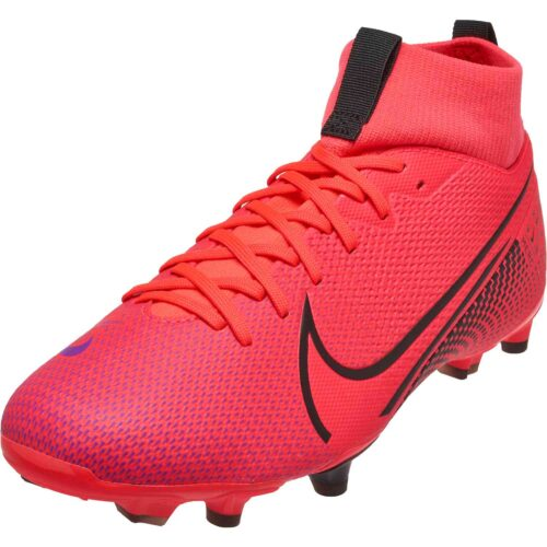 Kids Nike Mercurial Superfly 7 Academy FG – Laser Crimson
