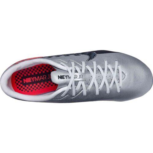 Kids Nike Neymar Mercurial Vapor 13 Academy FG – Chrome/Black/Red Orbit