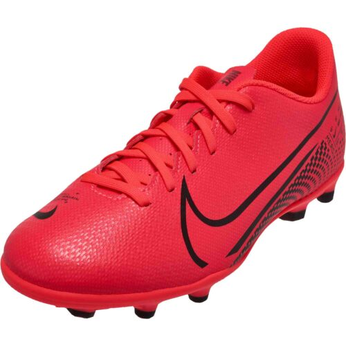 Kids Nike Mercurial Vapor 13 Club FG – Laser Crimson
